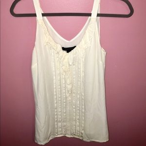 White House Black Market Silk Tank!